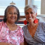 Delegate Cheryl Glenn and Jacquie Cohen Roth