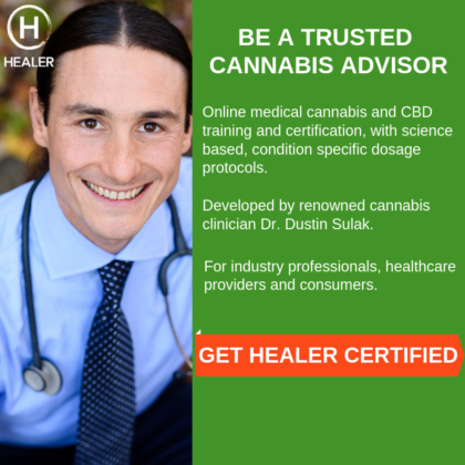 Be a trusted cannabis advisor - Get healer certified