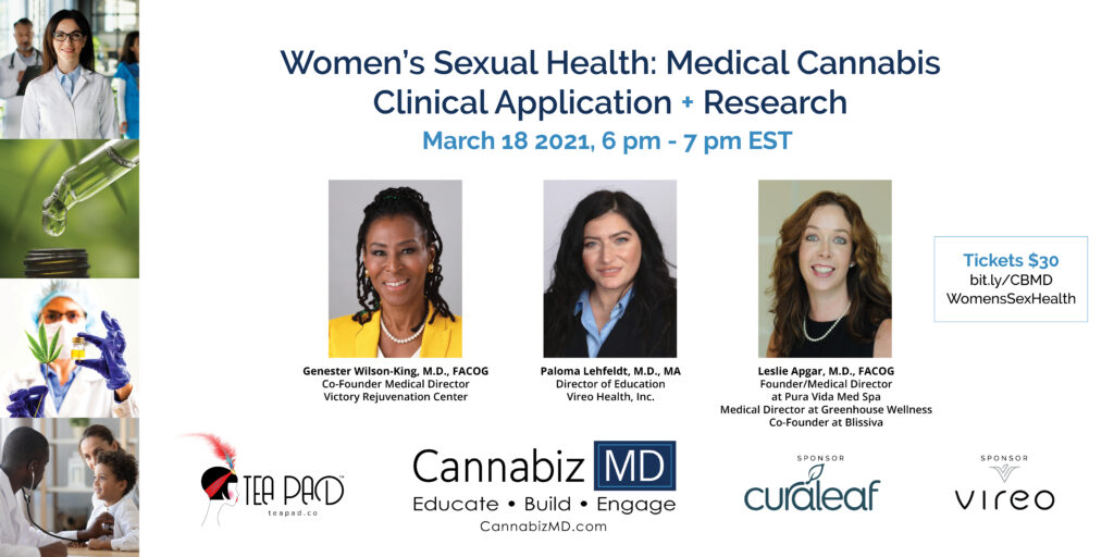 Women's Sexual Health: Medical Cannabis Clinical Applications + Research