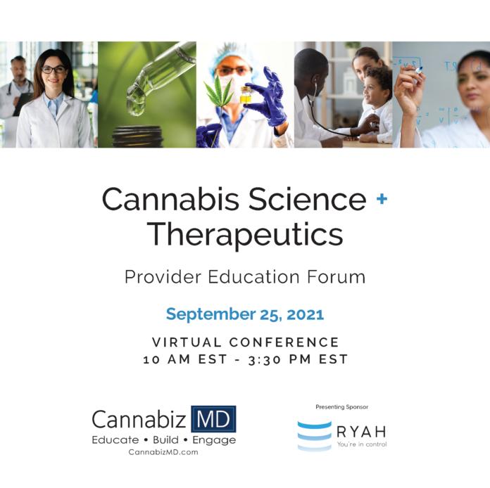 CannabizMD Cannabis Science + Therapeutics Provider Education Forum